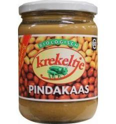 Krekeltje Pindakaas met zout eko 500 gram | Superfoodstore.nl
