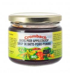 Crombach Appel-peren-dadelstroop 330 gram | Superfoodstore.nl