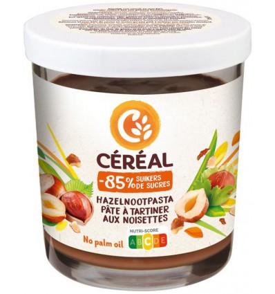 Broodbeleg Cereal Hazelnootpasta suikervrij 200 gram kopen
