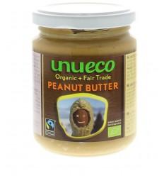 Unueco Pindakaas bio fair trade 250 gram | Superfoodstore.nl