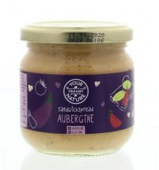 Your Organic Nature Sandwichspread aubergine 180 gram |