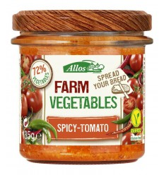Allos Farm vegetables pittige tomaat 135 gram |