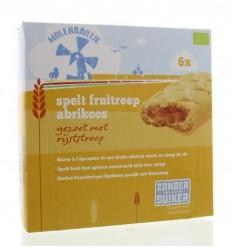 Molenaartje Spelt fruitreep abrikoos 180 gram | € 3.03 | Superfoodstore.nl