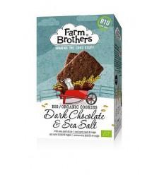 Farm Brothers Chocolade met zeezout koekjes 150 gram | € 2.79 | Superfoodstore.nl