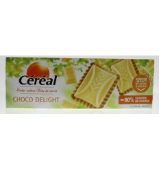 Cereal Koek chocolate delight wit 126 gram | Superfoodstore.nl