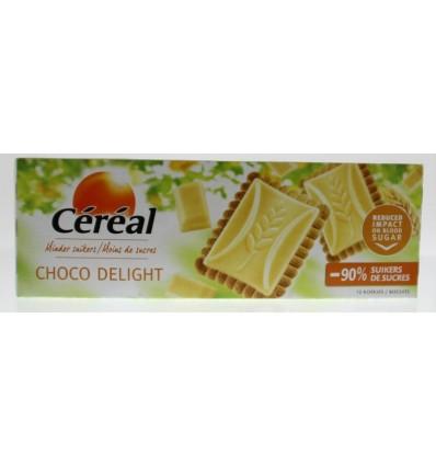 Koek Cereal chocolate delight wit 126 gram kopen