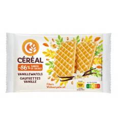 Cereal Vanillewafels suikervrij maltitol 90 gram |
