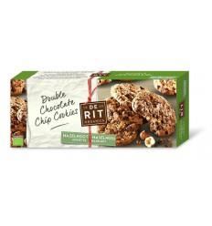 De Rit Double chococookies hazelnoot 175 gram |