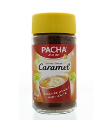 Pacha Caramel koffie 100 gram   Superfoodstore.nl