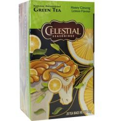 Ginseng Celestial Season Honey lemon ginseng green tea 20