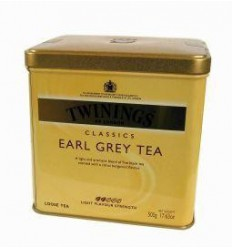 Twinings Earl grey blik 500 gram | Superfoodstore.nl