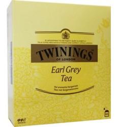 Twinings Earl grey tag 100 stuks | Superfoodstore.nl