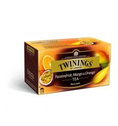 Thee Twinings Passievrucht mango & orange aroma 25 zakjes kopen