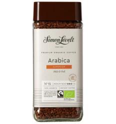 Simon Levelt Cafe organico Arabica instant 100 gram |