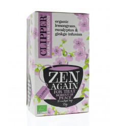 Clipper Zen again 20 zakjes | Superfoodstore.nl