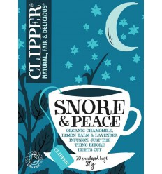 Clipper Snore & peace 20 zakjes | Superfoodstore.nl