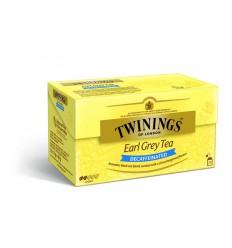 Twinings Earl grey decaf envelop zwart 25 zakjes |