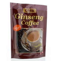 GMB Ginseng coffee/rietsuiker 10 sachets   Superfoodstore.nl