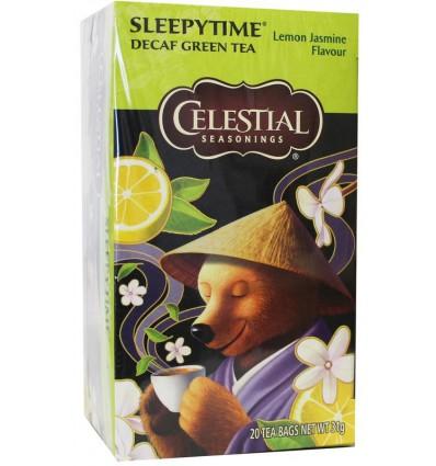 Celestial Season Sleepytime decaf green tea lemon jasmine 20