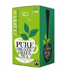Clipper Green tea bio 20 zakjes | Superfoodstore.nl