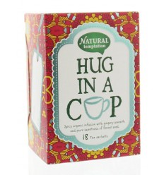 Natural Temptation Hug in a cup thee eko 18 zakjes |