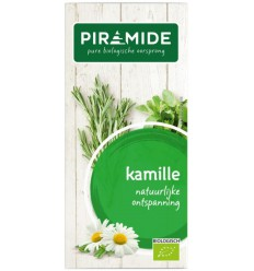 Piramide Kamille thee eko 20 zakjes   Superfoodstore.nl