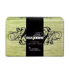 MR Jones Little green bag groene thee 20 zakjes | € 3.61 | Superfoodstore.nl