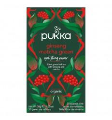Pukka Ginseng matcha green 20 zakjes | Superfoodstore.nl