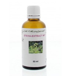 Cruydhof Stevia extract wit 50 ml | Superfoodstore.nl