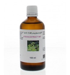 Cruydhof Stevia extract wit 100 ml | Superfoodstore.nl