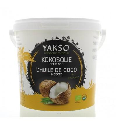 Kokosolie Yakso geurloos 2500 ml kopen