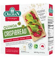 Orgran Crispybread quinoa 125 gram | € 4.32 | Superfoodstore.nl