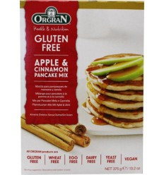 Orgran Apple & cinnamon pancake mix 375 gram | Superfoodstore.nl