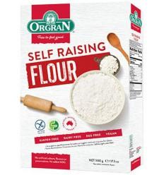Orgran Self raising flour 500 gram | Superfoodstore.nl