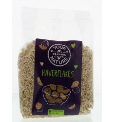 Your Organic Nature Haverflakes 250 gram | € 2.59 | Superfoodstore.nl