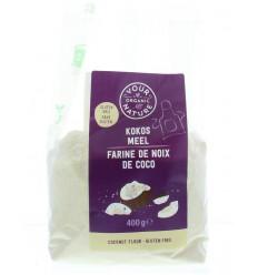 Kokosmeel Your Organic Nature Kokosmeel 400 gram kopen