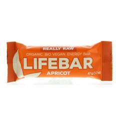 Lifefood Lifebar abrikoos 47 gram   Superfoodstore.nl