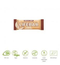 Lifefood Lifebar carobe hazelnoot bio 47 gram | € 1.85 | Superfoodstore.nl