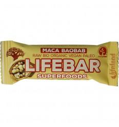 Lifefood Lifebar plus maca baobab 47 gram | Superfoodstore.nl