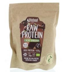 Lifefood Raw protein cacao spirulina bio 450 gram | € 26.09 | Superfoodstore.nl