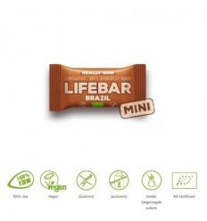 Lifefood Mini lifebar energiereep Brazil raw & 25 gram  