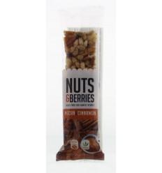 Nuts & Berries Pecan & cinnamon 30 gram | Superfoodstore.nl