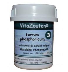 Celzouten Vitazouten Ferrum phosphoricum VitaZout Nr. 03 120