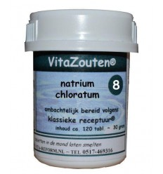 Celzouten Vitazouten Natrium chloratum/mur.VitaZout Nr. 08 120