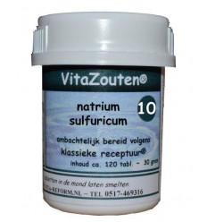 Celzouten Vitazouten Natrium sulfuricum VitaZout Nr. 10 120