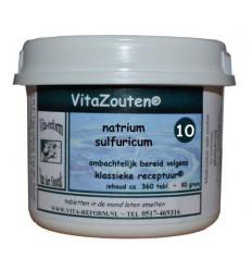 Celzouten Vitazouten Natrium sulfuricum VitaZout Nr. 10 360