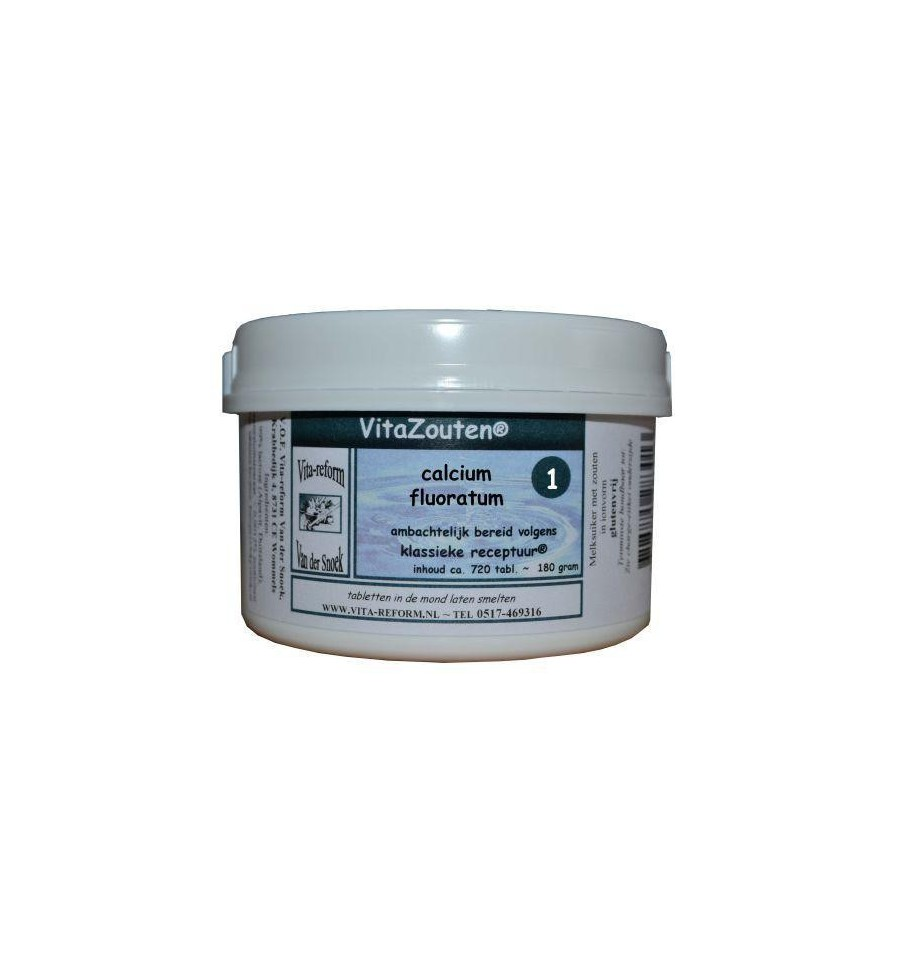 Vitazouten Calcium fluoratum Vitazout Nr. 01 720 tabletten