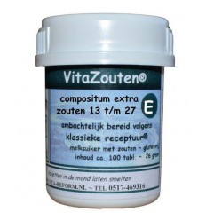Vitazouten compositum extra 13 t/m 27 100 tabletten | € 6.47 | Superfoodstore.nl