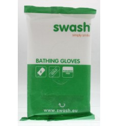 Smove Swash washandje gold vochtig 8 stuks | Superfoodstore.nl