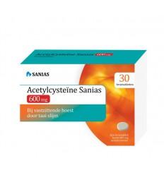 Sanias Acetyl cysteine 600 mg 30 bruistabletten |
